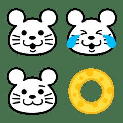 ネズミのチューチュー絵文字【ねずみ年】