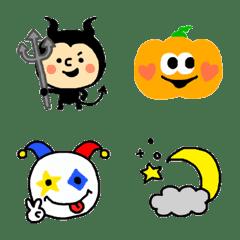 ハロウィン★日常絵文字