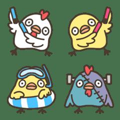 親子丼★絵文字