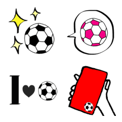 みんなが使えるサッカー絵文字⚽️