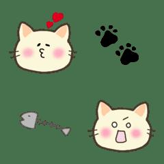 ネコちゃん絵文字セット