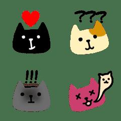 ネコが伝える絵文字
