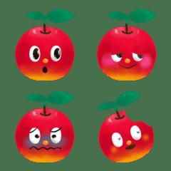 赤くなっちゃうりんご