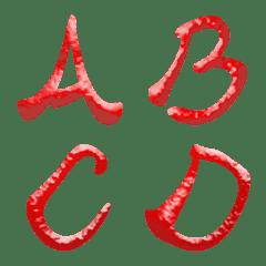 チリホットソース (A-Z) 絵文字 かわいい