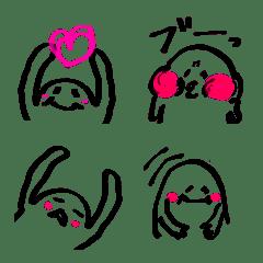 スケまる顔文字絵文字~サインペン~