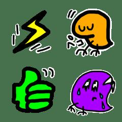 M and G emoji