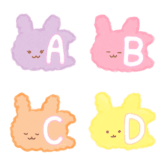 Alphabet Bunnies