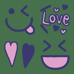 シンプル可愛い顔文字