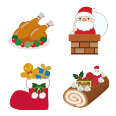 クリスマスの季節の絵文字