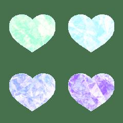 宝石のようなハートの絵文字