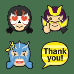 プロレス マスクマン 絵文字 Part3