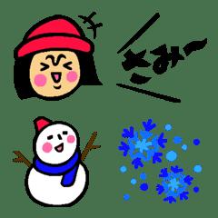 ザ・冬に使える絵文字集