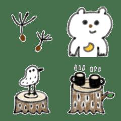 三日月くまと森の仲間たち