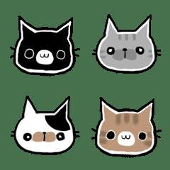 黒猫くろすけ絵文字