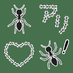 アリの絵文字