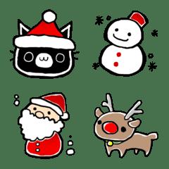 ★ねことクリスマス絵文字★