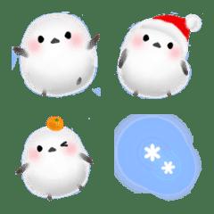 雪の妖精シマエナガ