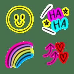 毎日使えるネオン絵文字(5)