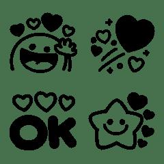 シンプル♡モノクロmix3