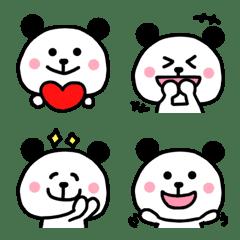 パンダちゃん絵文字♡