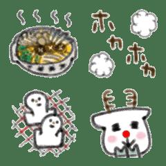 文末にちょこんと添えたい動物たち③冬
