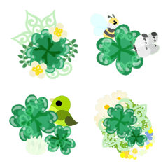 Clover Jewels Emoji