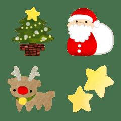 ほんわか癒やし大人のクリスマス絵文字