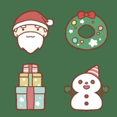 クリスマスに使える!ゆるかわいい絵文字