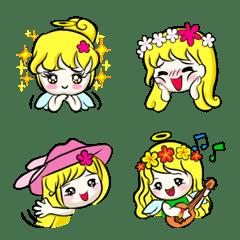 Lanla Angel Emoji