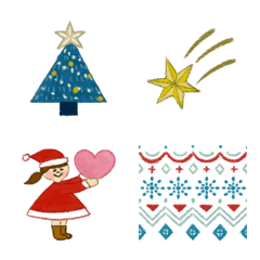 季節の絵文字《クリスマス》