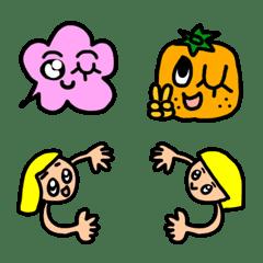 会話を彩る絵文字8