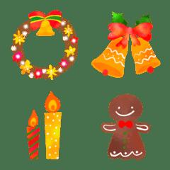 絵本風♡クリスマスMIX絵文字
