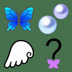 蝶、羽根etc 大人の絵文字