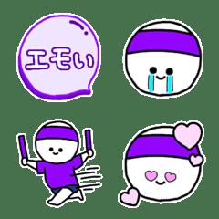 紫の絵文字◎推し/オタク/好きな色