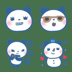 パンダコ 絵文字 青色 ①
