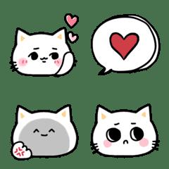 面白い表情がいっぱいのネコ 絵文字