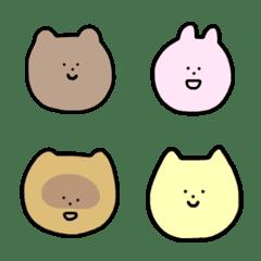 クマとウサギとその仲間
