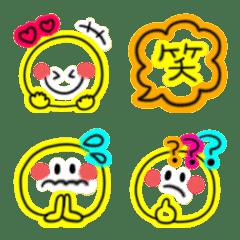 毎日使える♡スマイルネオン絵文字(5)