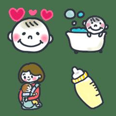 赤ちゃんの日常 絵文字