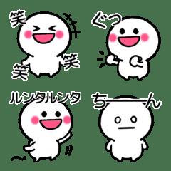 基本のましゅまる絵文字♡オノマトペ