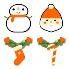Christmas-related emojis