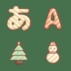 クリスマスクッキー絵文字