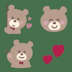 ゆる可愛い❤︎くまさん絵文字2