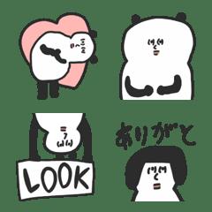 パンダパンダ絵文字♡poca ママ