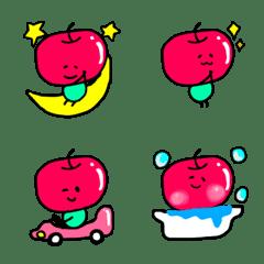 an apple girl