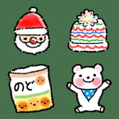 ぽかぽか冬の絵文字