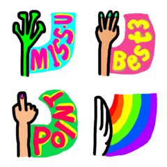 Hand Flag Emoji