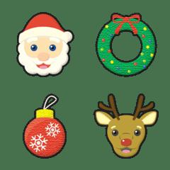 クリスマス サンタクロース 絵文字