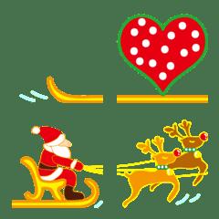 サンタと一番長いそりが来る!