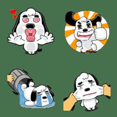 Emoji, PungPung - A funy dog